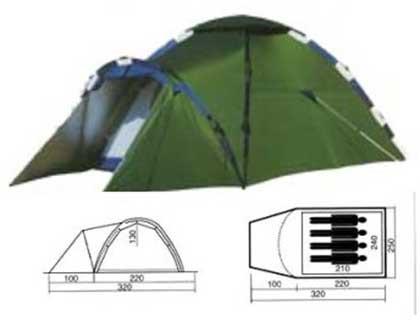 Палатка туристическая MERAN 4